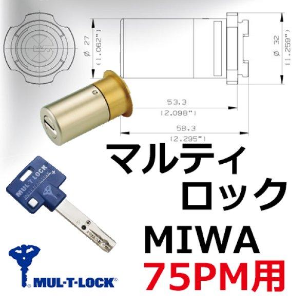 画像1: マルティロックJ MIWA,美和ロック 75PM (1)