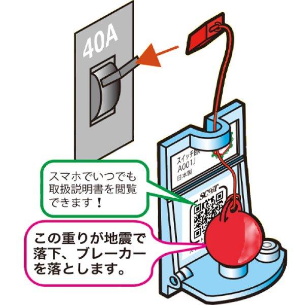 画像1: 税別5千円以上お買い上げ時、1個無料サービス エヌ・アイ・ピー 家庭用スイッチ断ボールIII 電源遮断器 日本製 (1)