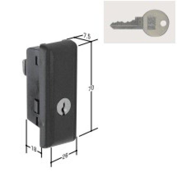 画像1: KR-105 717-T用の鍵交換用 (1)