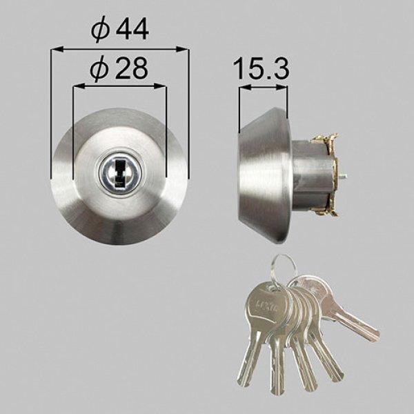 画像1: TOSTEM,トステム WNシリンダー ドア錠セット (1)