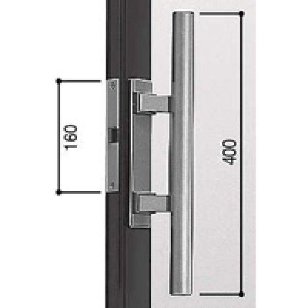 画像1: YKK プッシュプル錠セット HH-2K-17479 (1)