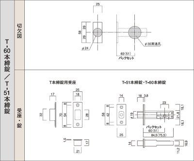 画像1: 古代,KODAI,コダイ セパレート・サムラッチ空錠・本締取替錠