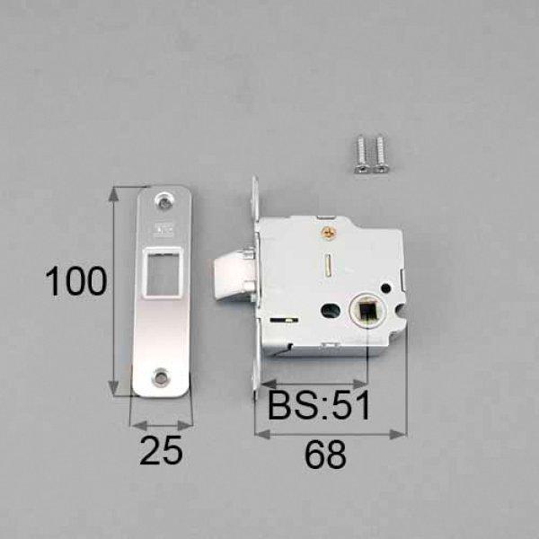 画像1: LIXIL,リクシル TOSTEM,トステム MDP378D 長座ハンドル用箱錠 (1)