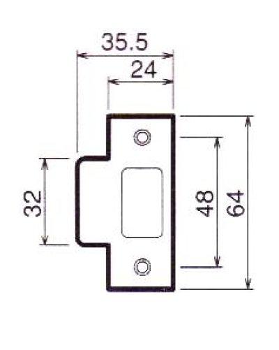 画像2: 川口技研(GIKEN) ホームレバー内締り錠II型