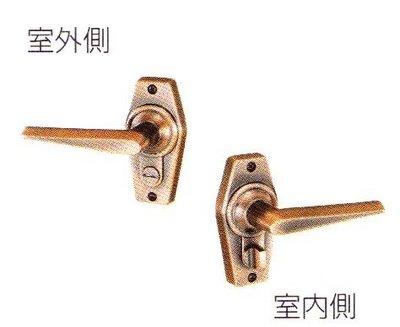 画像3: 川口技研(GIKEN) ホームレバー内締り錠II型
