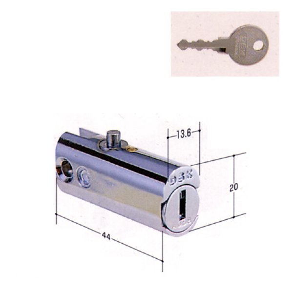 画像1: DSK オールロック用の鍵交換 KR-62 (1)