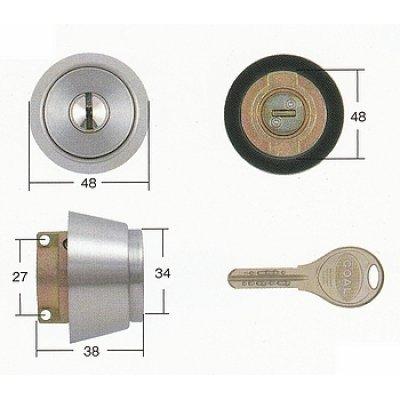 画像2: GOAL,ゴールV-18 MIWA,美和ロック LA(DA)交換用シリンダー