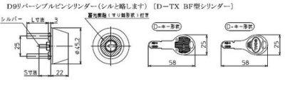 画像2: GOAL,ゴール D-TX  BF型シリンダー
