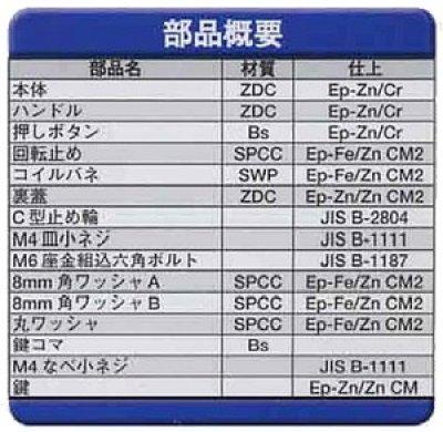 画像2: Geo Prince,ジョープリンス竹下 PH-71(71K)ボタン付丸型ハンドル